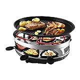 Raclette Griglia barbecue senza fumo Indoor tavolo Barbecue Elettrico stile coreano.