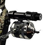Sportsmann Bowfishing Reel Bow Slingshot mulinelli catapulta caccia del pesce in alluminio per arco ricurvo