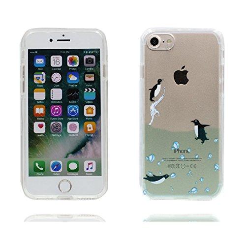 iPhone 7 Custodia / iPhone 7 Copertura / Cartoon orso bear, Shell Cover Skin Materiale in gomma trasparente al silicone contro graffi, iPhone 7 Case 4.7 color 2