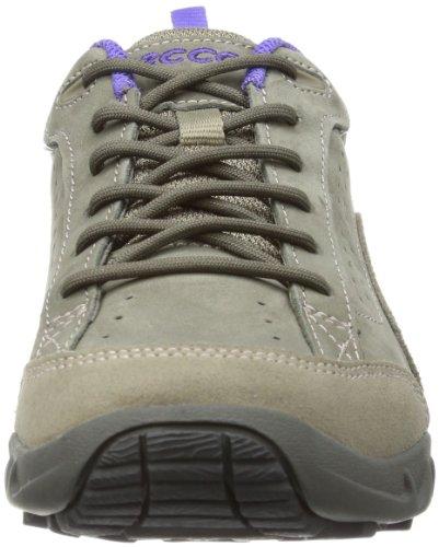 Ecco  Sierra LS Warm Grey/warm Grey, Sandales sport et outdoor femme Gris - Grau (WARM GREY/WARM GREY/IRIS)