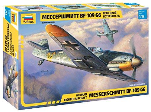 500784816 - Zvezda 1:48 Messerschmitt Bf-109 G6