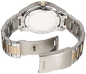 Fossil ES3204 - Reloj analógico de cuarzo para mujer, correa de acero inoxidable multicolor de Fossil