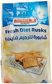 Americana Cakes Rusk Diet Beige, 350 gm