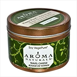 Aroma Naturals Peace Pearl, Orange, Clove and Cinnamon Small Aromatherapy to Go Tin - 2.8 Oz, 4 Pack