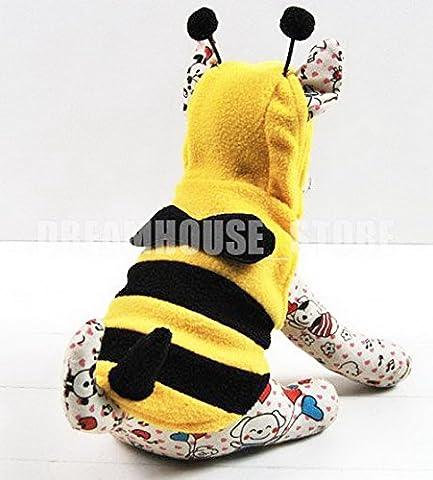 Costumes Dog Bee - Pegasus pour petit chien chat chiot Pet