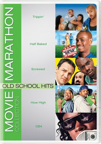 Movie Marathon Collection: Old School Hits (Trippin' / Half Baked / Screwed / How High / CB4) by Dave Chappelle
