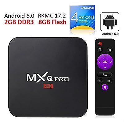 MXQ Pro Games Android TV Box Media Streaming Video on Demand 5.1 Quad-Core Processor Kodi Pre-Installed