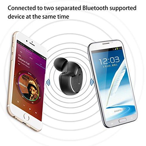[2018 Version] Avantree Mini In Ear Bluetooth Kopfhörer für Motorradhelm GPS Navi, Podcasts, Audiobooks, Kabellos Unsichtbarer Kleiner Ohrhörer Ohrstöpsel, Wireless Kleinste Motorrad Headset (Nur rechtes Ohr) - 6