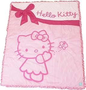 hello kitty parure de lit de chambre d 39 enfant b b s pu riculture. Black Bedroom Furniture Sets. Home Design Ideas