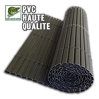ECG Sichtschutz PVC doppelseitig braun 300x 0,5x 100cm