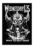 Wednesday 13 what the night brings Patch 10x8cm