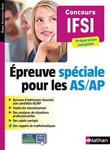 preuve spciale pour les AS/AP by Tewfik Lahcene (2015-05-01)