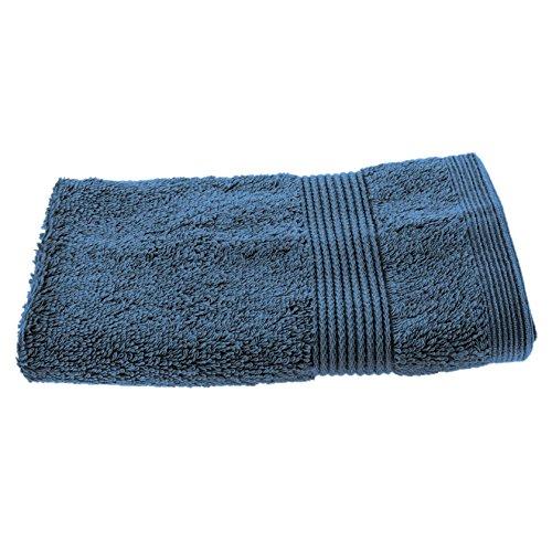 Smartfox Waschlappen Waschhandschuh, 500g/m², 100% Baumwolle, 35 x 35 cm groß, hellblau (Frottier-badelaken)