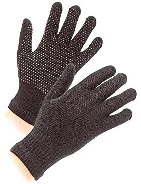 Shires Equestrian Suregrip hípica guantes, guantes, unisex-kids, color Blanco - negro, tamaño talla única