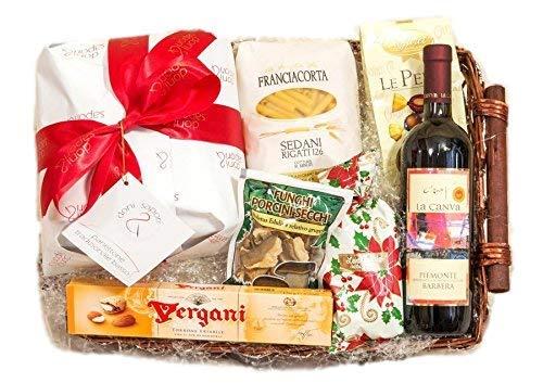 Geschenkkörbe mit Italienische Feinkost – Easy Box by YesEatIs -7 Artikel