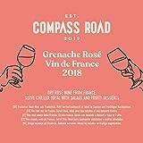 Marque Amazon - Compass Road Grenache Rosé, Vin de France 75 cl - Lot de 6
