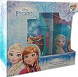 Star Licensing - Frozen Die Eiskönigin Brotdose und Trinkflasche Set für Kinder