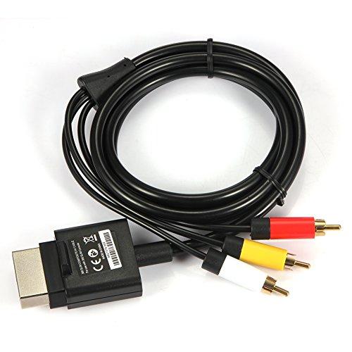 New Komponenten-AV-Video-Audio-Kabel für Xbox 360S Slim (Hd Für Xbox 360 Slim)