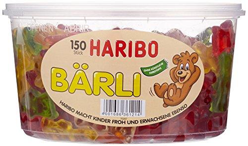 Haribo Bärli,3er Pack (3x 1.2 kg Dose)