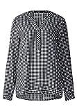 CECIL Damen Bluse 341096 Juliet, Mehrfarbig (Black 30001), XX-Large (Herstellergröße: XXL)