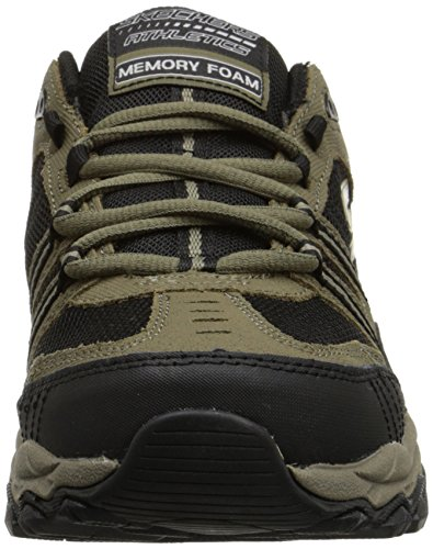 Skechers Sport ¨ Afterburn Grà ve Memory Foam Lace Sneaker Up Verde