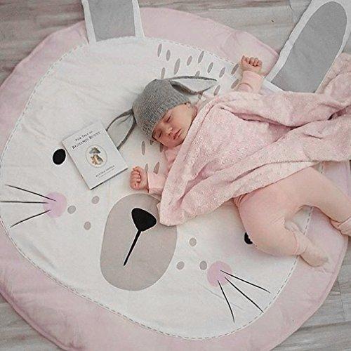 maistore kriechen Teppich Lovely Kaninchen Form Spielen Krabbeldecke Plüsch Schlafzimmer Kinder Zimmer dekorieren Toys Matte Kinder Decke für Neugeborene