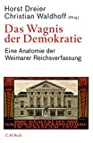 Das Wagnis der Demokratie: Eine Anatomie der Weimarer Reichsverfassung Bild