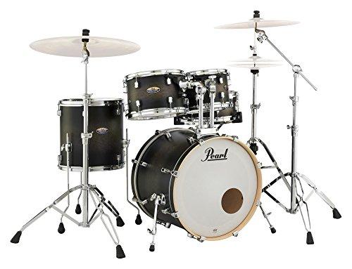 DMP 5pc Shell Pack 2016B/1007T/1208t/1414F/1455S/hwp830(Satin Black Burs (Drum Shell Pack)