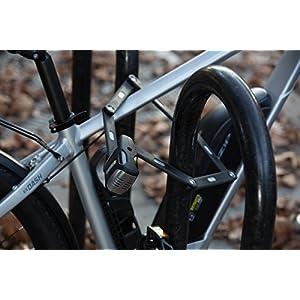 51ucpMXHw7L. SS300 Abus Bordo 6000A/90Sh, antifurto Pieghevole per Bici
