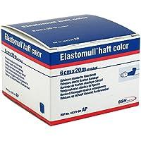 Elastomull haft color 20mx6cm blau Fixierbinde 1 stk preisvergleich bei billige-tabletten.eu