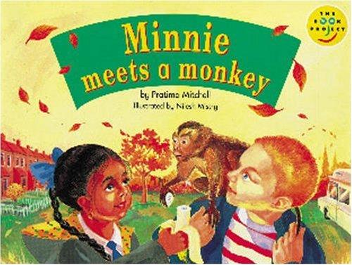 Minnie meets a monkey.