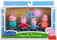 Peppa Pig Family Pack - 4 figurines