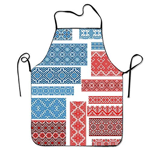 HTETRERW Easter Egg Apron for Baking Crafting Gardening Cooking Durable Easy Cleaning Creative Bib for Man and Woman Standar Size