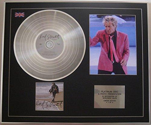 Rod Stewart-Limited Edition-Platin + Foto-Zeit (Stewart-foto Rod)
