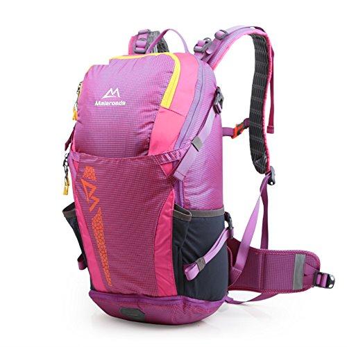 sacchetto di alpinismo/zaino esterno/borsa Trekking/Zaino Outdoor-Rose Red 55L Rose Red