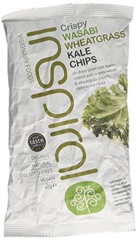 inSpiral Organic Raw Wasabi Wheatgrass Kale Chips