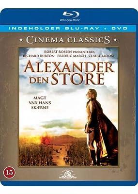 Alexander Den Store (1956) [Blu-ray + DVD] [Skandinavien Import]
