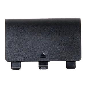 Pinzhi 1x Batterie-Ersatz Rückabdeckung Deckel Tür für XBox One Wireless Controller(schwarz )
