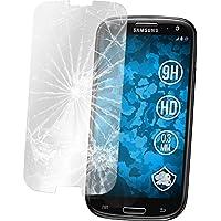 2 x Glas-Folie klar für Samsung Galaxy S3 Neo PhoneNatic Panzerglas für Galaxy S3 Neo