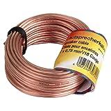 Hama | Loudspeaker Cable 2 x 0.75 mm² | 20m | Transparent