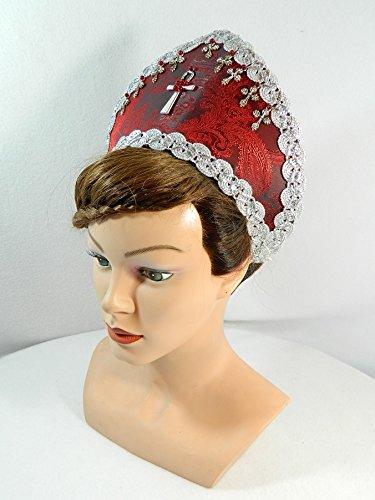 French Hood Coronet Schapel Haube Tudor Mittelalter (Kostüm Boleyn Anne Kostüm)