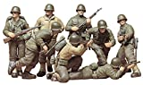 Tamiya 300035048–WWII US Infantry Figurines 1:35– Set of 8