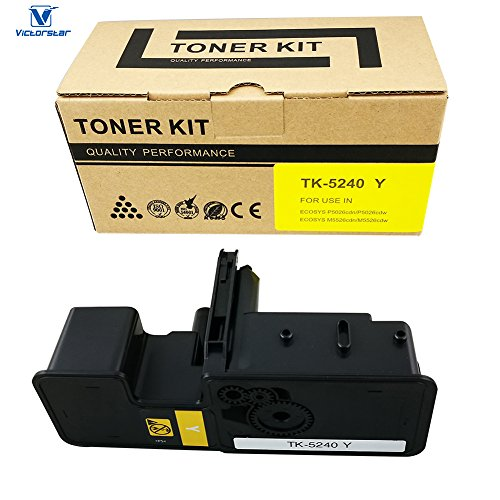 VICTORSTAR @ Cartuccia Toner Compatibile TK5240 / TK-5240 usato  Spedito ovunque in Italia