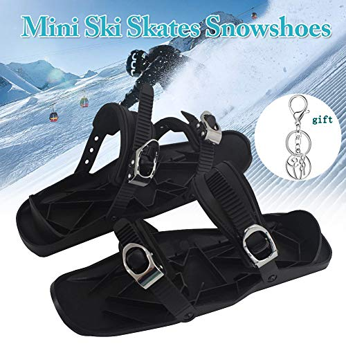 Mini Ski Skates Schneeschuhe Short Skiboard Snowblades Outdoor Sports Entertainment Supplies Skifahren Zubehör