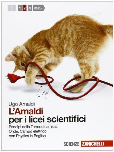 Amaldi per i licei scientifici. Con Physics in english. Con espansione online: 2