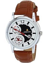 Golden Bell Original Analog Multi-Colour Dial Men's Watch-GB-345