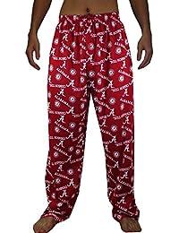NCAA Mens Alabama Crimson Tide Cotton Sleepwear / Pajama Pants