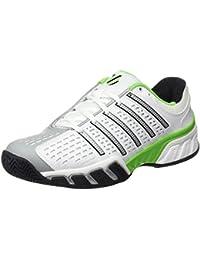 K-Swiss Bigshot 2.5 - Zapatillas para hombre, color blanco / negro / verde, talla 41.5