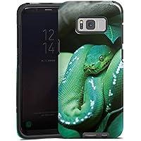Samsung Galaxy S8 Hülle Tough Case Schutzhülle Snake Schlange Reptil