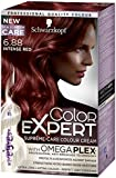 Schwarzkopf Color Expert Omegaplex Hair Dye, 6-88 Intense Red